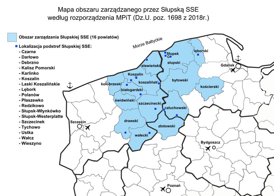 2018.09.04 Strefy wpływów i tereny inwestycyjne w SSSE