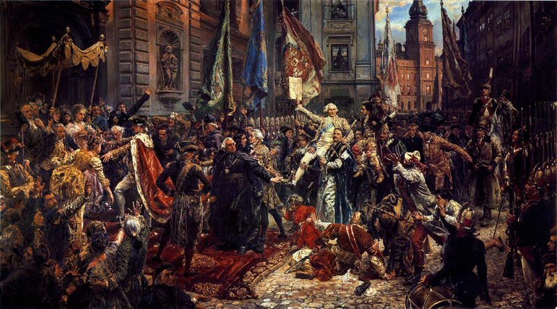 Constitution of May 3 1791 by Jan Matejko